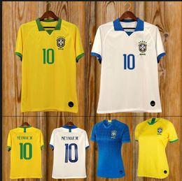 423d38157fc 2019 Brazil American Cup football team jersey Brazilian men jersey NEYMAR  JR FIRMINO football jersey women's World Cup custom football shirt cheap  yellow ...