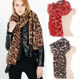 2019 écharpes femmes chic Brand New Soft Long Chic Femmes Hiver Mélange  Imprimé Léopard Stole Scarves 88b60516277