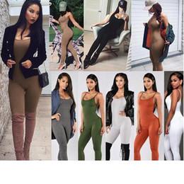 Pantalones super ajustados online-Womens Diseñador Mono 2019 Nueva honda casual ropa ajustada forman los pantalones del color sólido de Super multicolor opcional de 11 colores del tamaño S-XL.