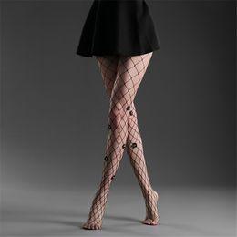 calze nere d'epoca Sconti Collant sexy Donna Flower Net Lady Calze vintage Collant Donna Calze a rete Designer Lingerie Collant a rete neri 2019