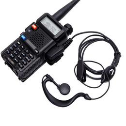 Walkie Talkie Headset Allgemeines Funkgerät für BaoFeng 888s / 5R / 27 mit K-Typ 1 11 mm 2-Pin-Anschluss von Fabrikanten