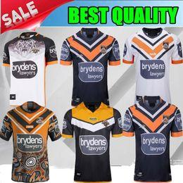2019 ocidental tigres Casa longe Rugby colete qualidade Top 19 20 Australia Rugby WESTS jérsei dos tigres de 2020 Oeste Tiger Rugby camisa S-3XL de