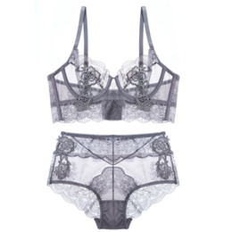 ec2b367a97 China New Top Sexy Underwear Set Push-up Bra and Panty Set 3 4 Cup