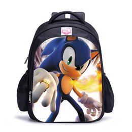 Belle borse di Mario Sonic the Hedgehog Bambini Ragazzi Ragazze Zaino Sportivo giornaliero Bella da uomo donna Laptop Zaino da grande viaggio in cielo fornitori