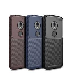 Coques de telephone pour moto x play en Ligne-Pour Moto G7 Power Play Power One Silicone Case Anti Housse de téléphone complet pour iPhone X XR XS