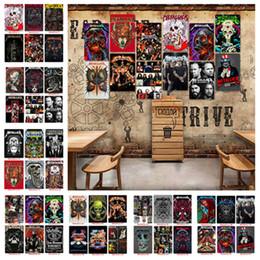 cartel de la banda de rock Metallica arte de la pared de la vendimia pinturas modernas Carteles de chapa de metal viejo pintura de pared Barra de la decoración del hogar WallpaperT2I5357 desde fabricantes