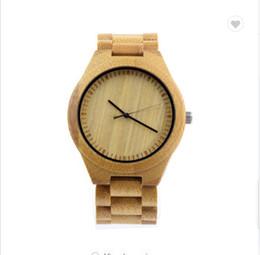 Correa de reloj de cebra online-2019 Full Wood Band Belt Shenzhen Watch Esqueleto de madera Reloj Zebra