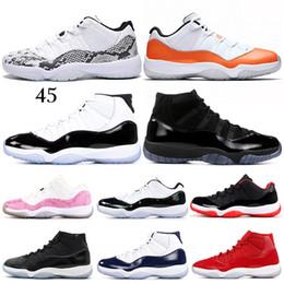timeless design b14a3 c2978 Prom Night 11 11s Cap und Gown Basketball Schuhe Legend Blue Concord WIN  WIE 96 Gamma Blue Männer Frauen jordans Sports Sneakers 5.5-13 günstig prom  ...