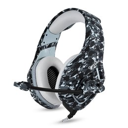 2019 headsets para xbox one K1 PS4 gaming headset casque wired PC fone de ouvido estéreo com microfone headset para o novo Xbox One / laptop tablet headsets para xbox one barato