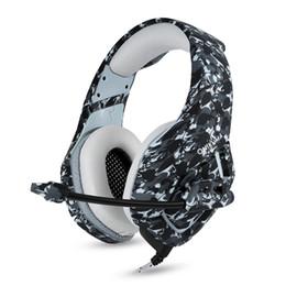 Auriculares para juegos K1 PS4 casque auriculares estéreo para PC con auriculares con micrófono para el nuevo reproductor de tabletas Xbox One / portátil desde fabricantes
