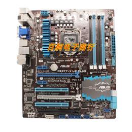 2019 x58 motherboards Sockel LGA 1155 PCI-E 3.0 USB3.0 SATA3.0 für ASUS P8Z77-V LE PLUS + I5 2500K Desktop-CPU + Motherboard Z77 DDR3 Verwendetes Mainboard