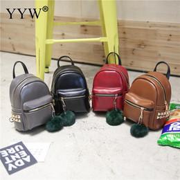 2019 saco de escola coreano de couro YYW Pu Mochilas De Couro para adolescentes Meninas Da Escola Saco de Estilo Coreano saco de Mochilas das mulheres mini sacos saco de escola coreano de couro barato