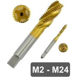 M2-M30 Métrique HSS 6542 Hand Machine Robinet Filetage Outils Pour Acier Inoxydable