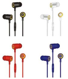2019 orelha telefone mic dhl Fones de ouvido quente 3.5mm in-ear fones de ouvido cy-030 mãos livres universal baixo fone de ouvido estéreo fones de ouvido mic com pacote de varejo para o telefone móvel dhl