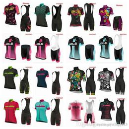 2019 ale bike 2019 NEW ALE maillot de cyclisme ensembles 3D gel pad Femme pro équipe été ropa ciclismo vtt cyclisme vêtements racing bike wear A3024 promotion ale bike