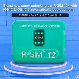 2019 Nuovo R-SIM12 + RSIM12 + RSIM 12+ R SIM 12+ Sbloccare chip max carta di sblocco per iPhoneXS, XR, X, 8P, 8,7 da