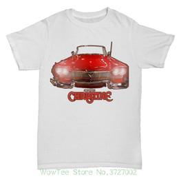 Vestiti di uomini di grandezza re online-Christine ispirato film film Stephen King Retro Horror Sci Fi Mens T Shirt Uomo T-shirt Uomo Abbigliamento Plus Size
