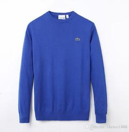 ca12ffd44fe76 2019 agujas de tejer suéter LACOSTE Envío Gratis Nuevo de Alta Calidad de  los hombres Suéter