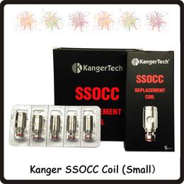 Small Size Kangertech SSOCC Vertikalspulen Ni200 0,15 Ohm SSOCC-Spule 0,5 1,2 1,5 Ohm Für Kanger Subtank Nebox Subvod Zerstäuber von Fabrikanten