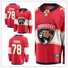 68c32a49 custom 2019 Men's Panthers 78 Maxim Mamin Fanatics Branded Red Breakaway  Florida women kids Jersey