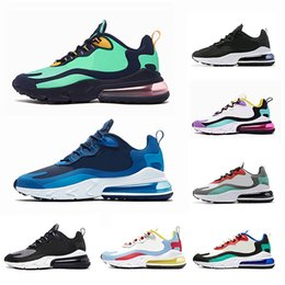 f8915986ec84 Nike Air max 270 react shoes 2019 New BAUHAUS men running shoes High quality  OPTICAL triple black fashion mens trainer breathable sports outdoor  sneakers ...