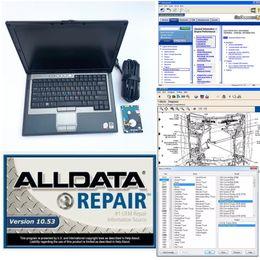 Auto software Todos os dados Reparação software Alldata 10.53 + mitchell 2015 1TB HDD 2em1 instalado no computador portátil D630 4G Windows7 de