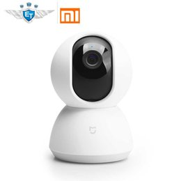 Wiege kopf online-Englische Version Xiaomi Mijia Smart Kamera Cradle Head 1080P Camcorder 360-Winkel-Sicht Webcam IP-Kamera WIFI Wireless App Control
