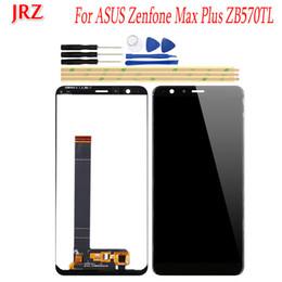 """оптовые телефоны для повышения Скидка 5.7"""" для ASUS Zenfone Max Plus ZB570TL X018D X018DC ЖК-дисплей и сенсорный экран Digitizer Ассамблеи с инструментами для ASUS ZB570TL"""