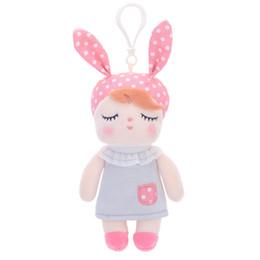 Мешки-мешки онлайн-METOO кролик чайка ребенка Анджела утка Мини плюшевые игрушки мешок плюшевых подвеска