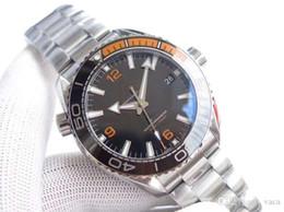 Argentina 3S nuevos relojes SeamasterCo axial de 600 metros. Reloj mecánico de acero inoxidable para caballero de 43.5mm. Material cerámico con muñequera automática 8900. Suministro