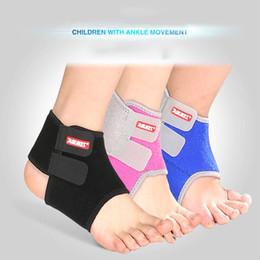 2019 criança bandagem 2 pcs crianças futebol basquete tornozelo segurança suporte ginásio correndo proteção pé bandage elástico tornozelo cinta banda guarda esporte desconto criança bandagem