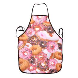Fácil de Lavar As Mulheres Digital Impresso Avental Chef de Cozinha Cozinhar Vestido para Trabalho Doméstico Restaurante de Limpeza Em Casa de