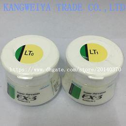 Лабораторные материалы онлайн-Лаборатория зубных протезов лабораторный материал Noritake EX-3 фарфоровая пудра блеск ex3 LT0 / LT1 оригинальная оригинальная керамика 50 г