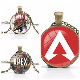Apex Legends Pendant Necklace 2019 New Game Logo Collane Gioielli fai da te fatti a mano gioielli in vetro cabochon choker ragazzi regalo all'ingrosso supplier wholesale logo charms da fascini all'ingrosso del marchio fornitori