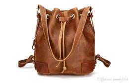Bolsos de cuero tan suave online-KISSUN Factory Vintage Women Shoulder Bag Tote Bag Diseño de marca Veg Leather Tanned Leather Pure Cowhide Women Handbag