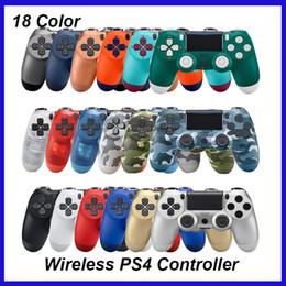 novos sistemas de jogos Desconto Joystick sem fio bluetooth para ps4 controlador apto para playstation 4 console com pacote de varejo controlador de jogo loogo frete grátis dhl