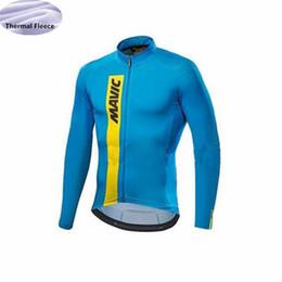 4d8569de0dc8ed Radfahren jersey männer 2018 pro team winter thermische fleece langarm  racing mtb bike radfahren clothing ropa ciclismo günstig pro  radsportbekleidung