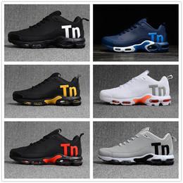 nike TN plus air max airmax tns Mens Mercurial Plus Tn Ultra SE Negro Blanco naranja Desinger Zapatos para correr Mujeres Hombres Entrenadores Zapatillas deportivas 40-46 desde fabricantes