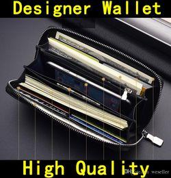 saco da praia do ouro das senhoras Desconto Vem com BOX Designer Carteira de alta qualidade de Luxo mens hot Designer de marca mulheres carteiras bolsas de couro Genuíno com zíper Bolsas 60015 60017