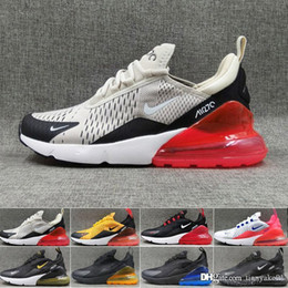 zapatos de hombre de hierro Rebajas nike air max 270 270s 27c airmax 2019 TN Cushion Sneakers Sport Designer Casual Shoes Trainer Parra Road Star BHM Iron Men Women General Size 36-45