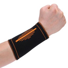 Poignets de basket en Ligne-1 paire soutien de poignet respirant élastique main support de poignet bande protecteur attelle élastique basket gymnase sport sécurité
