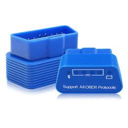 super scan Promotion Super Mini Bluetooth V1.5 Elm327 OBD2 Scanner de diagnostic voiture Elm327 1,5 OBD 2 Elm 327 Outil de diagnostic de voiture Adaptateur Auto Scan