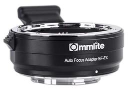 Amopofo commlite Electronic AF Lens Mount Adapter for EF EF-S Lens to FX-Mount Camera