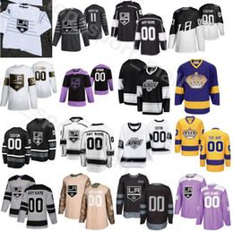 Stella 77 online-2020 All Star LA re Jersey Los Angeles Hockey su ghiaccio Vintage 8 Drew Doughty 11 Anze Kopitar 32 Jonathan Quick 77 Jeff Carter