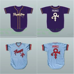camisetas de béisbol cosidas Rebajas Minnesota Prince Tribute Twins Baseball Jersey Cualquier jugador o número Stitch Sewn Movie Baseball Jerseys Nombre de doble puntada