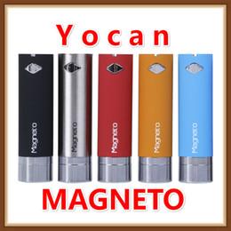 Mods tools online-Vaporizzatore per sigaretta elettronica Eocer con penna a cera magnetica Yocan con connessione magneto mod Strumento Dab 1100mAh Batteria aggiornata Evolve Plus