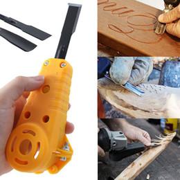 2019 lâminas de cortador de tecido 2019 tesoura elétrica portátil com apontador cortador de tecido de pano tesoura redonda máquina de corte de lâmina rotativa lâminas de cortador de tecido barato