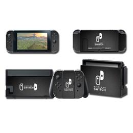 2019 calcomanías para xbox one Conjunto de cubierta protectora de vinilo adhesivo decoraciones de consola para Nintendo Switch NS controlador de cuerpo completo de múltiples colores placa frontal de la piel