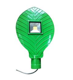 feuille d'aluminium Promotion 30W forme de feuille LED rue lumière lampe LED route lumière étanche IP65 30W AC85V-265V entrée en aluminium moulé sous pression feuille style projecteur de lumière projecteurs