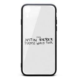 Étui iPhone XR Justin Bieber But Tour Du Monde 9H En Verre Trempé Couverture Arrière TPU Bumper Antichoc Cas de Téléphone ? partir de fabricateur